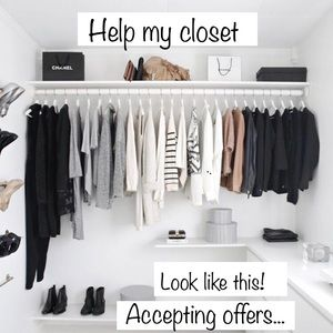 SALE!!Closet clean out!!